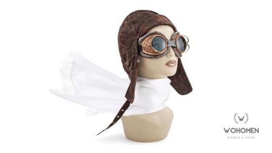 Aviator Scarf, Modern Fashion Accessory