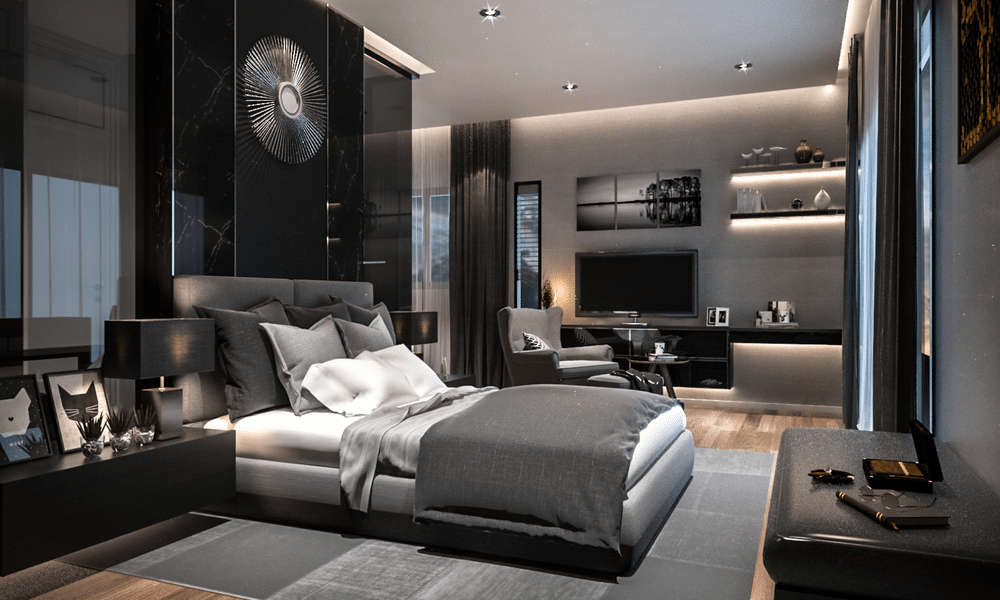 Modern Luxury Bedroom - Feel Like a Luxe Hotel - Wohomen