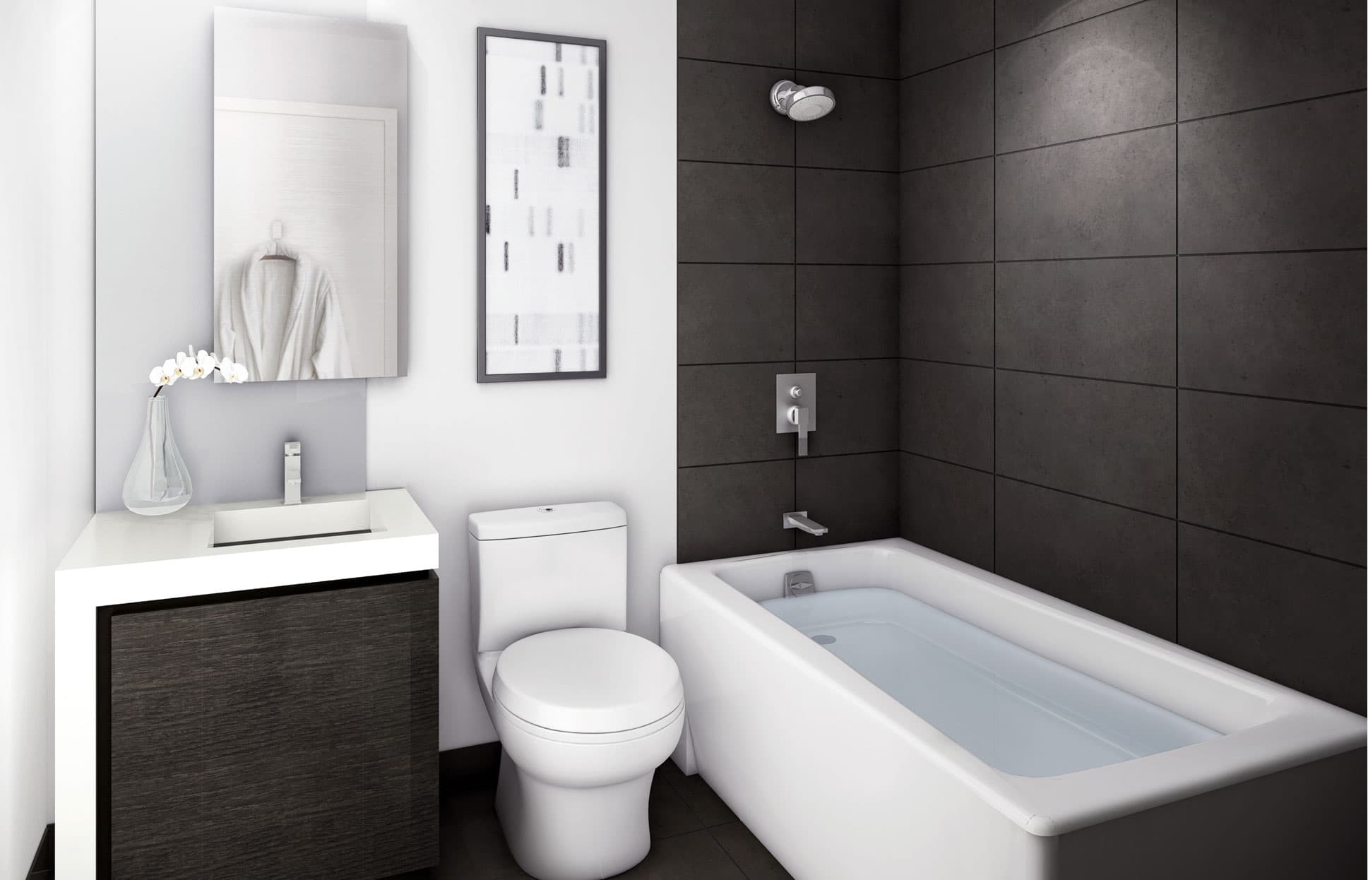 5 Small Bathroom Ideas to Find More Space - Wohomen on Small Space Small Bathroom Ideas Uk id=86288