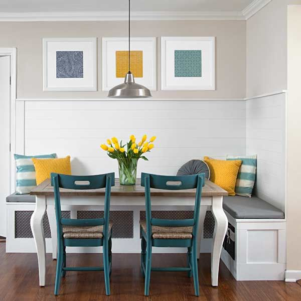 Breakfast Nook Decor Ideas to Brunch for Your Home
