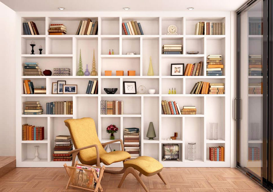 4 Ways to Organize Bookshelves and Display Books