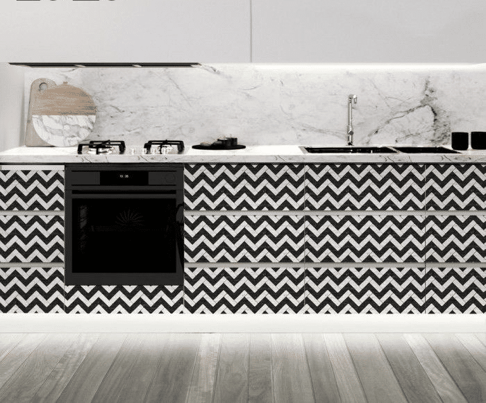 black-and-white-kitchen-cabinets