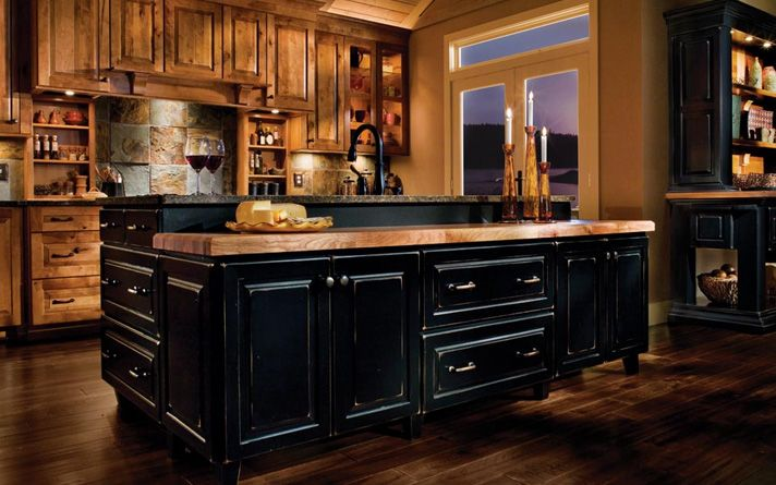 rustic-kitchen-cabinets