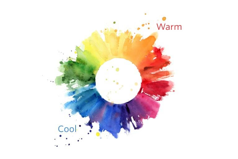 Warm and Cool Colors For Home Decor