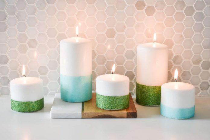 glitter-candles