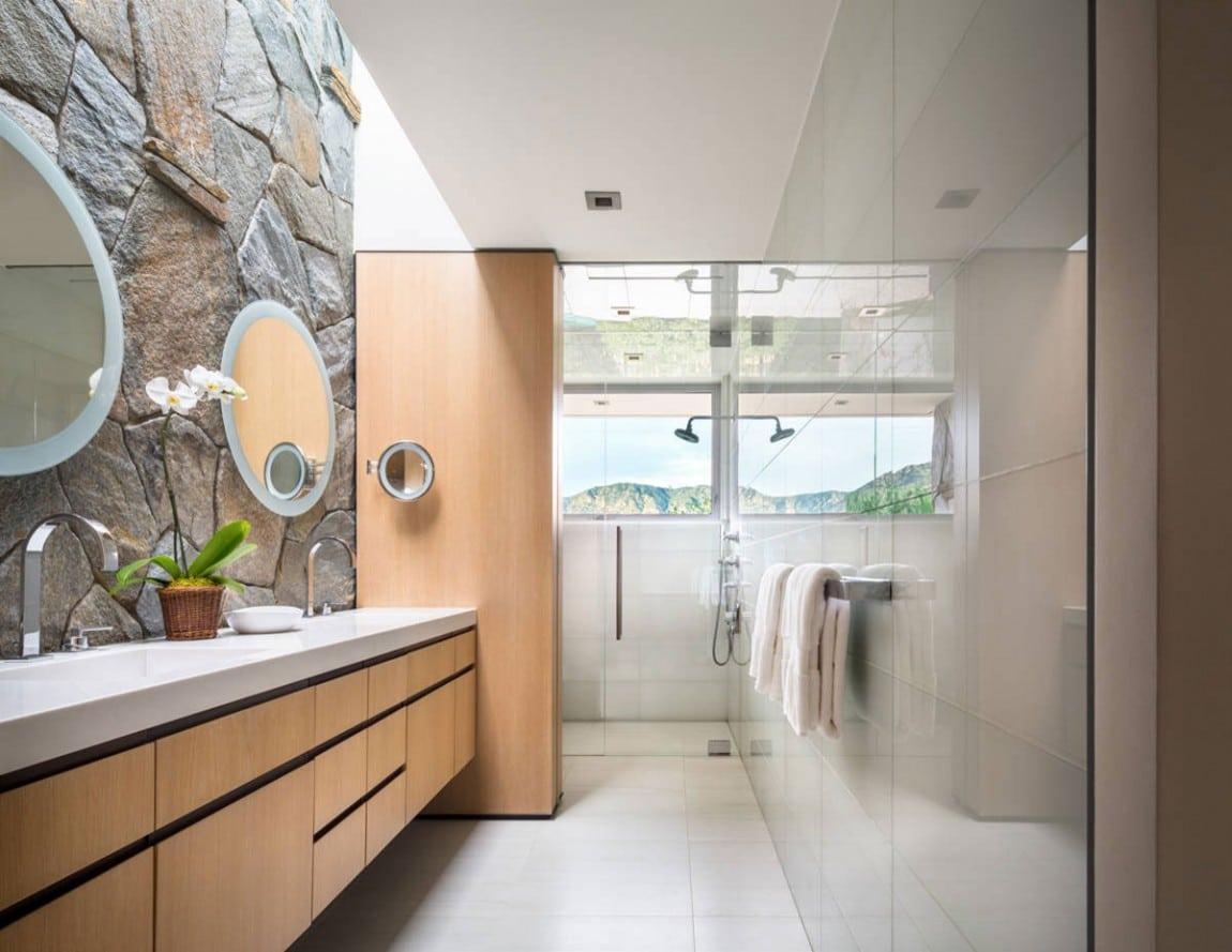 29 Narrow Bathroom Ideas to Make a Bathroom Look Bigger - Wohomen