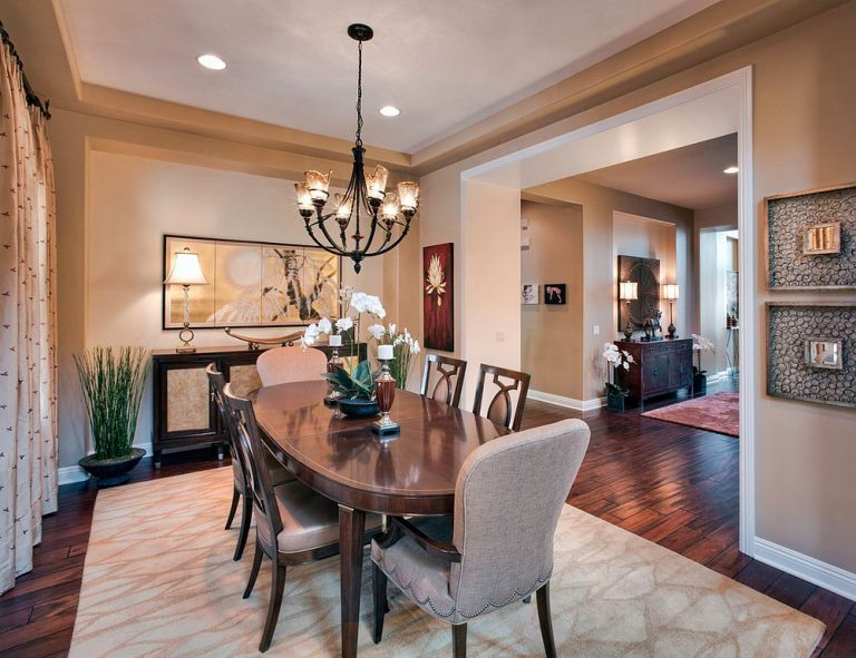 How to Create an Oriental Style Dining Room on a Budget