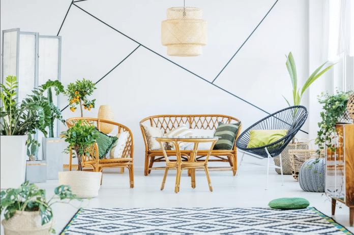 Outdoor-Patio-Furniture-in-Living-Room