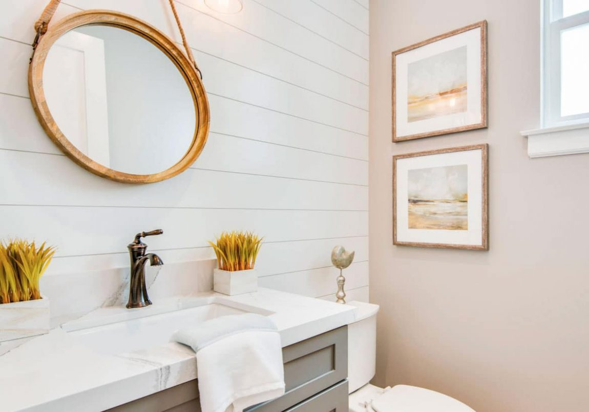 5 Decorating Ideas For The Powder Room Wohomen