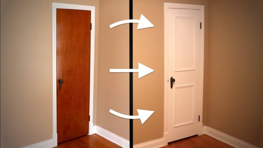 Restore-an-Old-Door-with-Moldings