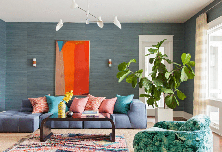 Decorating with Bold Colors in Your Home's Interior
