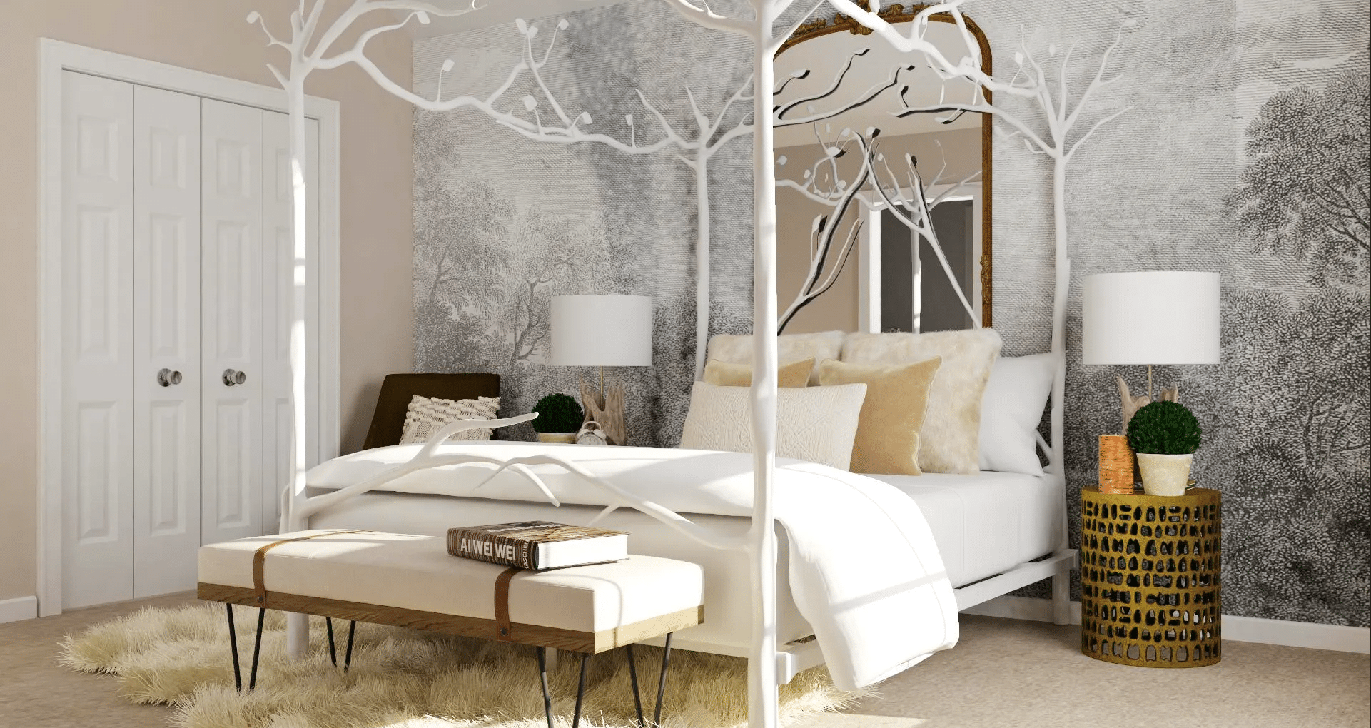 - Creative Ways To Make A Forest Canopy Bed - Wohomen