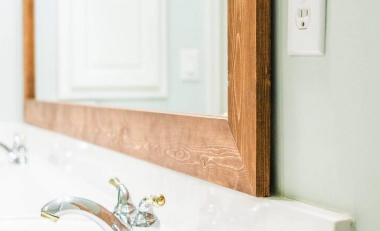 How to Frame an Existing Bathroom Mirror?