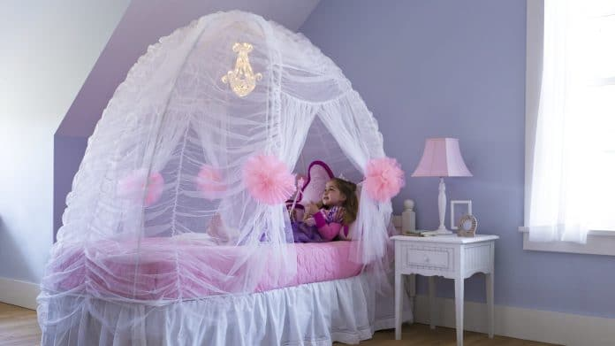 making-a-tent-for-a-kids-twin-bed