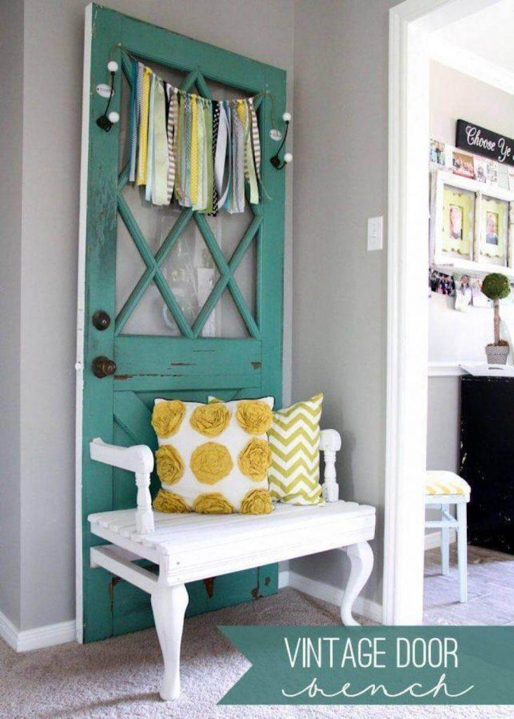 old-door-bench