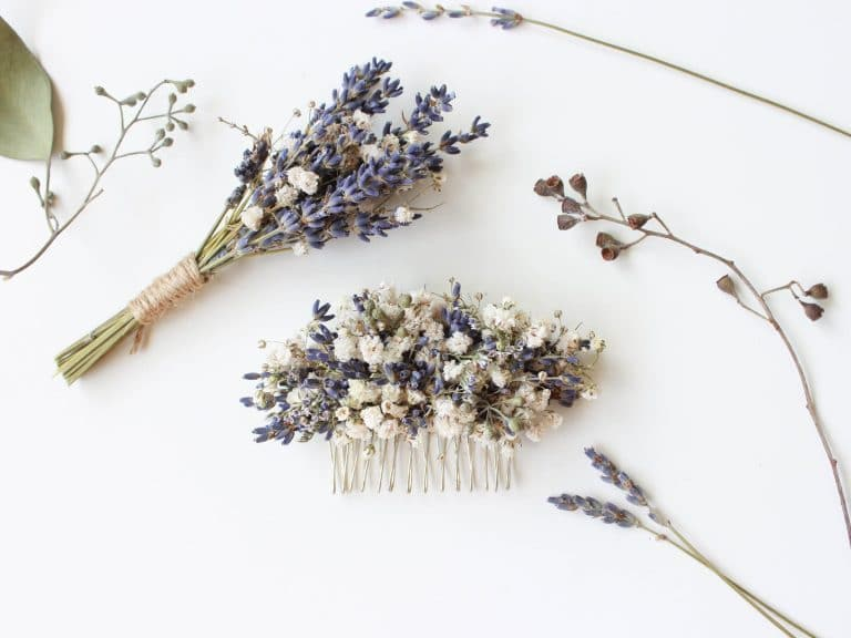 Dried Lavender Ideas & How to Dry Lavender