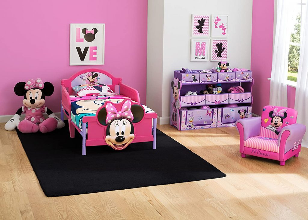 Minnie-Mouse-Toddler-Bed