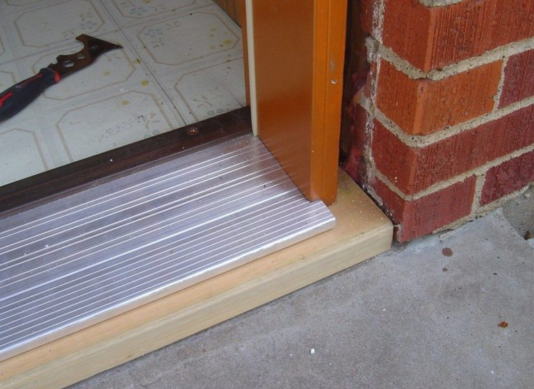 How to Replace a Metal Door Threshold