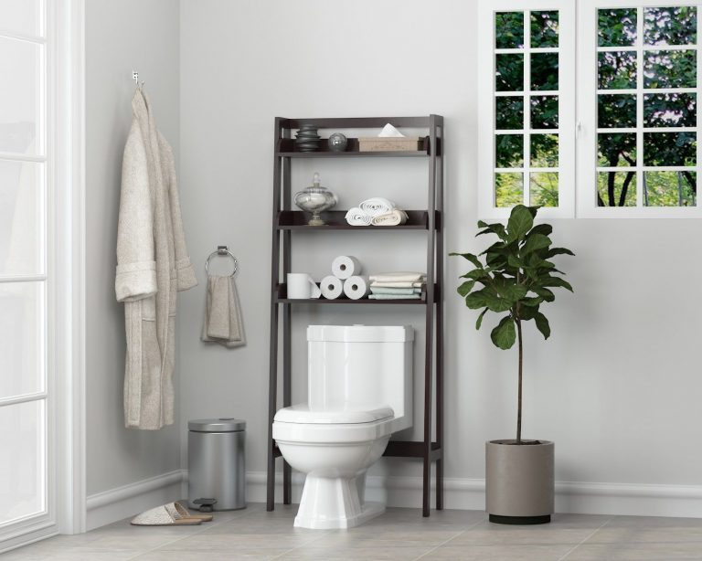 Maximizing Over the Toilet Cabinet Storage Space